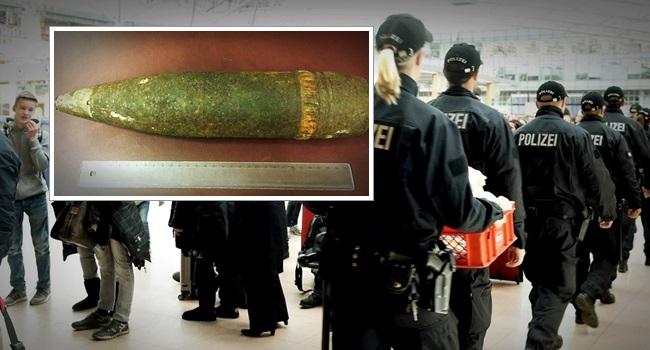Áustria Turista encontra bomba da Segunda Guerra Mundial e tenta embarcá-la em avião