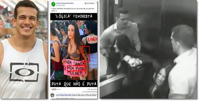Assassino de Tatiane Spitzner cidadão de bem bolsonaro direita machismo
