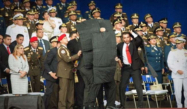atentado contra Nicolás Maduro caracas Venezuela