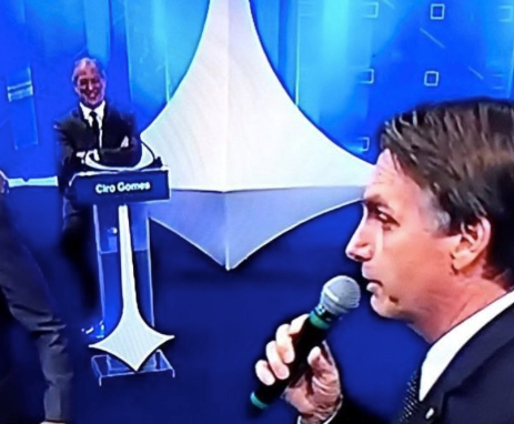Bolsonaro debate ciro gomes