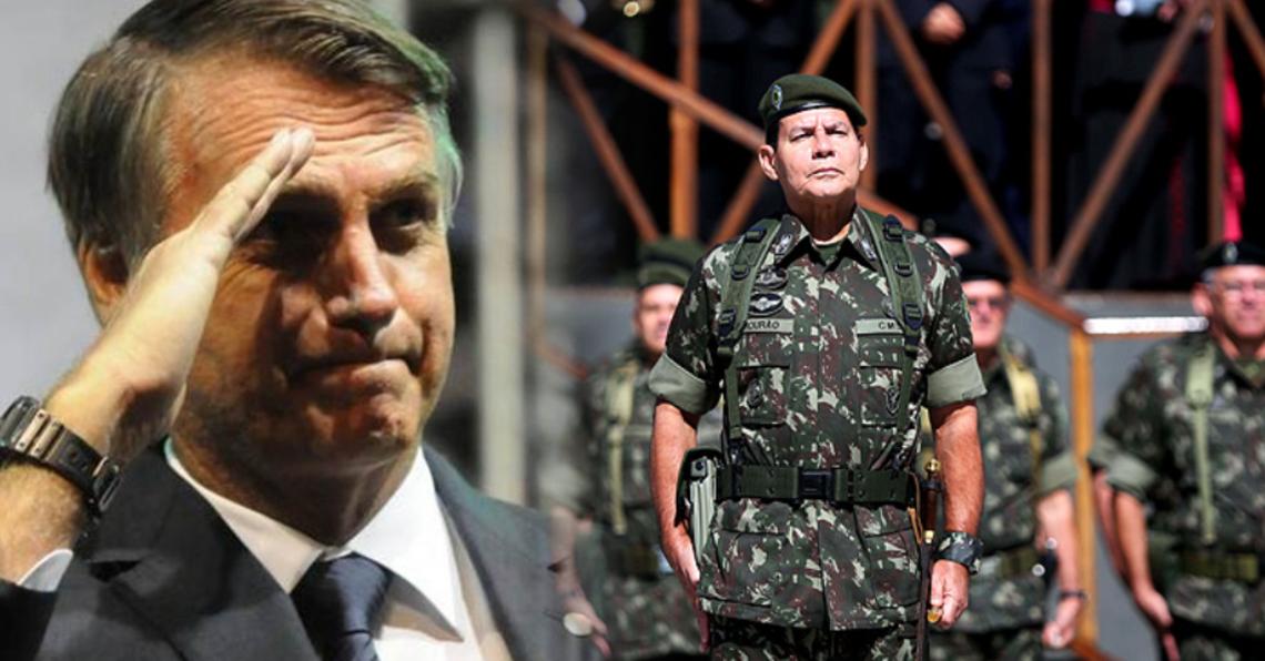 General Mourão Jair Bolsonaro