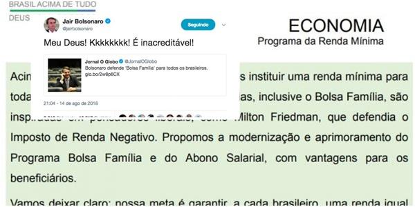 programa de governo Bolsonaro