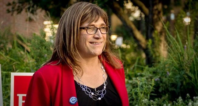 Christine Hallquist candidata a governadora transgênero EUA