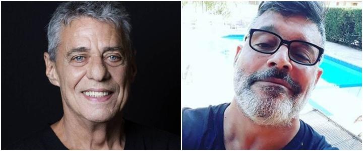 Chico Buarque e Alexandre Frota