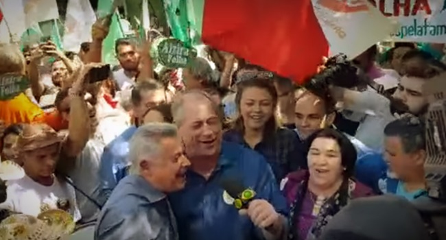 Ciro Gomes dança forró brasília eleições 2018