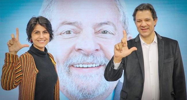 debate alternativo de Haddad e Manuela D'Ávila