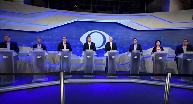 debate candidatos governo do Rio de Janeiro