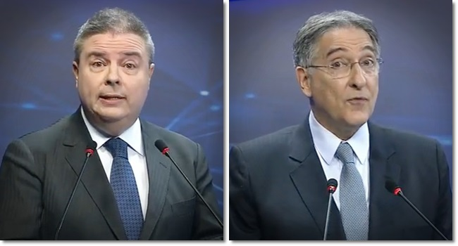 debate candidatos ao governo de Minas anastasia pimentel