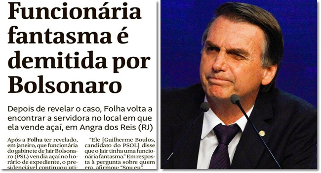 reação eleitor de Bolsonaro demonstração de desonestidade