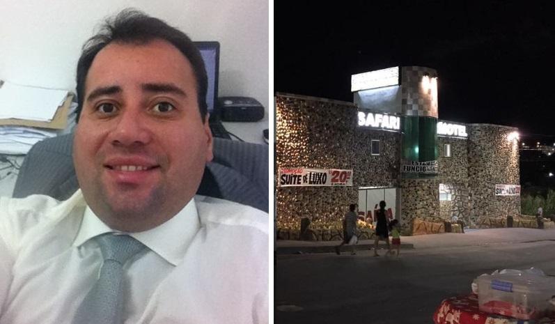 empresário Fabian Santos motel