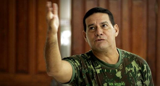frases polêmicas vice de Jair Bolsonaro general Mourão