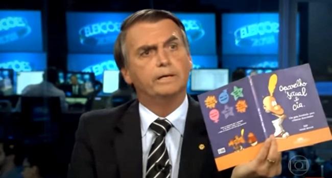 fraude Kit Gay bolsonaro educação crianças haddad
