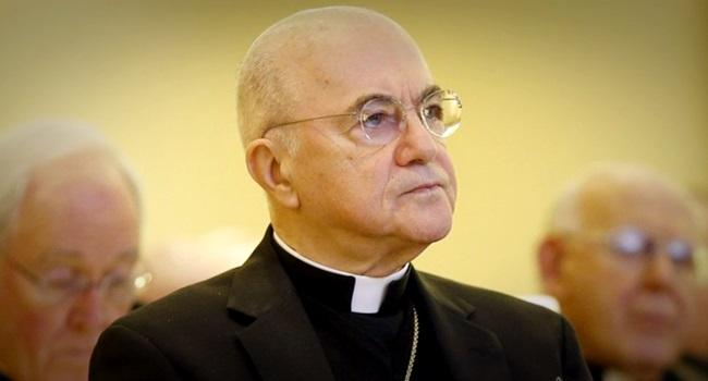 identidade arcebispo Carlo Maria Viganò renúncia papa Francisco