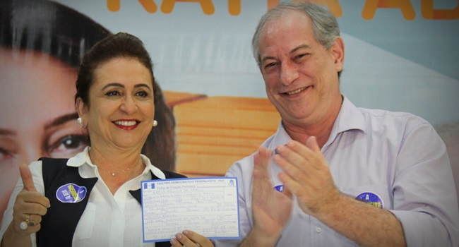Kátia Abreu pdt vice de Ciro Gomes