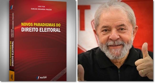 livro Luiz Fux direito Lula candidato