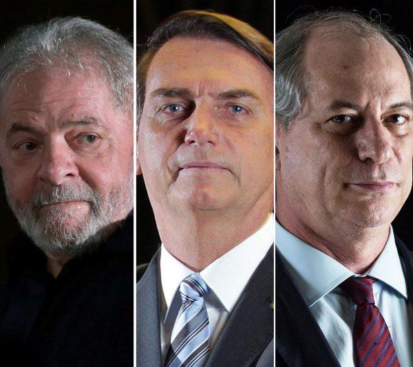 Lula Bolsonaro Ciro pesquisa presidente