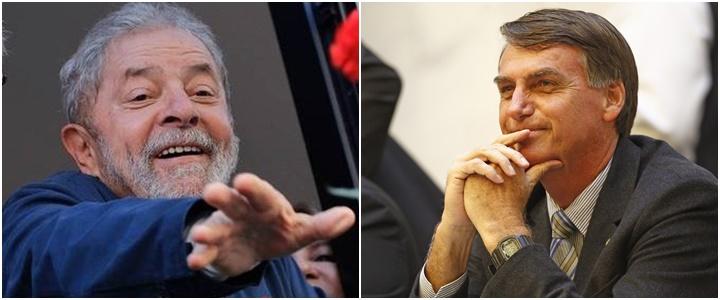 nova pesquisa Ibope Lula Bolsonaro