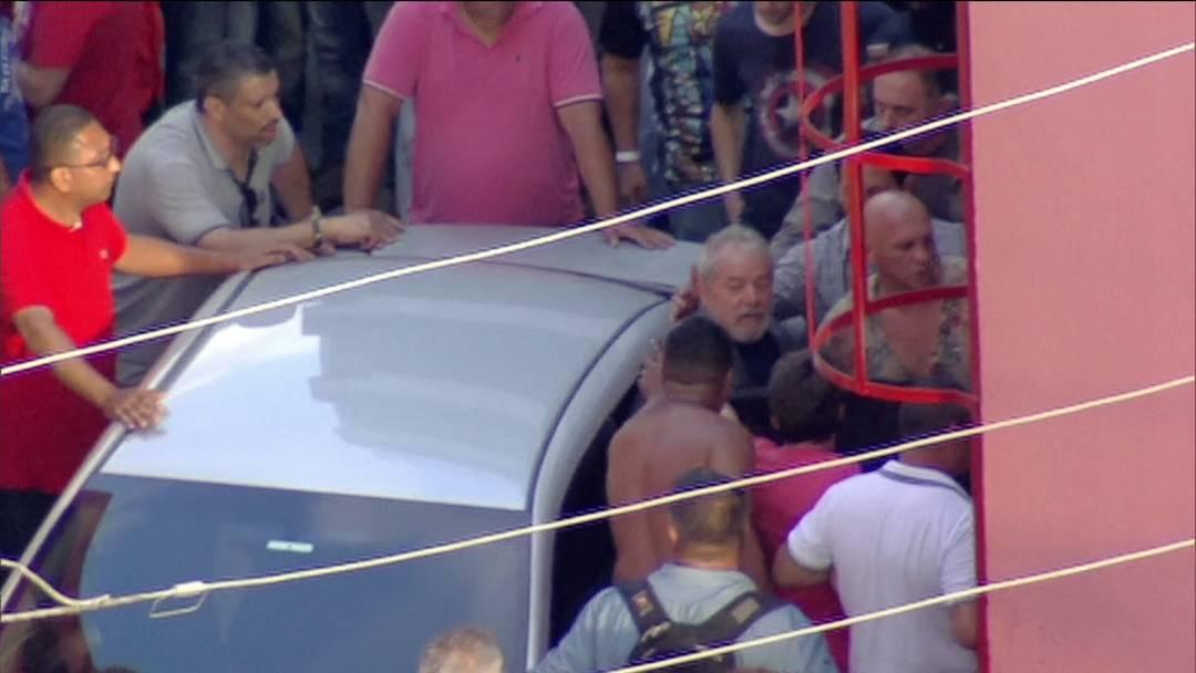 prisão de Lula sindicato