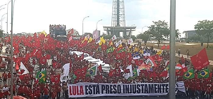 registro candidatura de Lula