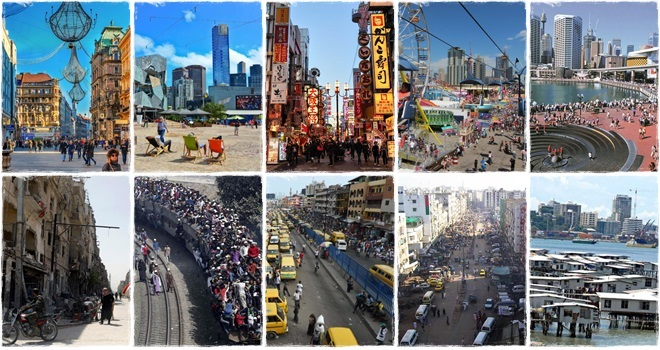 melhores e as piores cidades do mundo