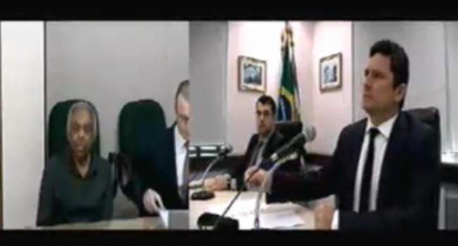 Sérgio Moro constranger Gilberto Gil lava jato Lula