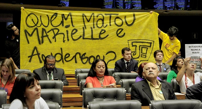 Morte de Marielle Franco Estado Jungmann polícia militar