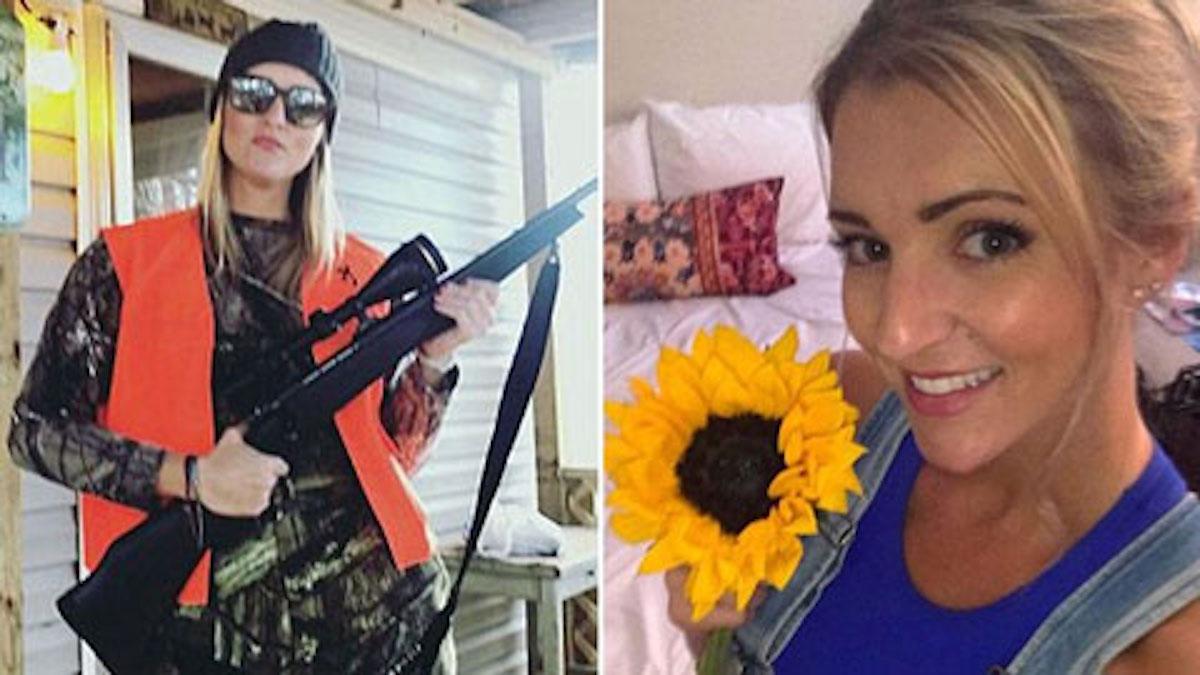 mulher presa alcoolizada Lauren Cutshaw