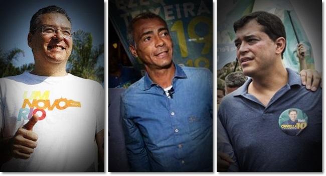 patrimônio dos candidatos Rio de Janeiro Romário Indio da Costa