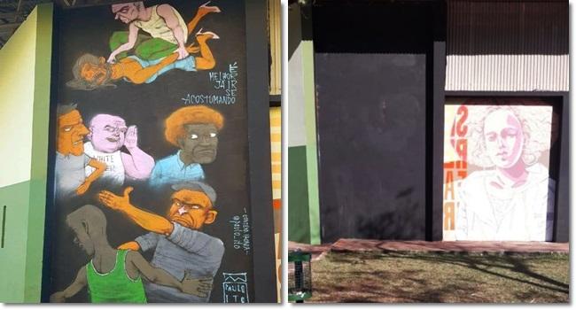 Prefeitura de Maringá apaga grafitti