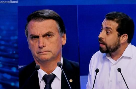 debate band bolsonaro guilherme boulos