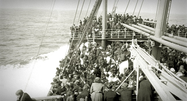refugiados eram os italianos preconceito racismo