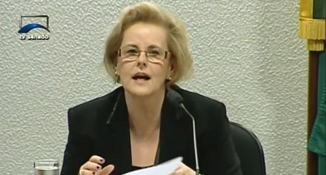 Rosa Weber Tratados internacionais acima leis