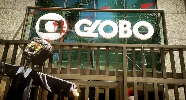 Rede Globo pessoa desonesta golpista falsa sonegadora