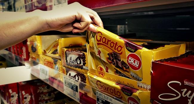 preso Suspeito roubar barras de chocolate prisão