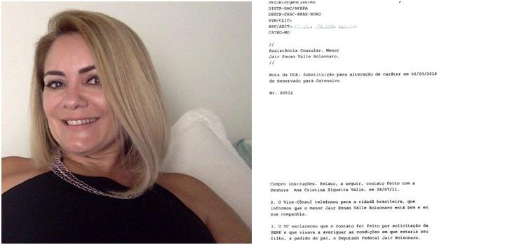 ex-mulher Bolsonaro ameaçada de morte