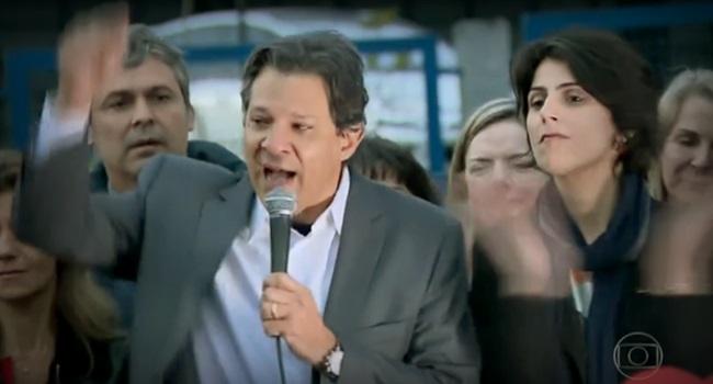 estratégia pancadaria Fernando Haddad mídia eleições