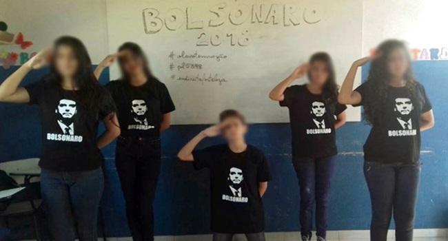Adolescentes presas fáceis do discurso pró-Bolsonaro