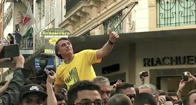 Bolsonaro perde adversários eleições 2018 ódio violência