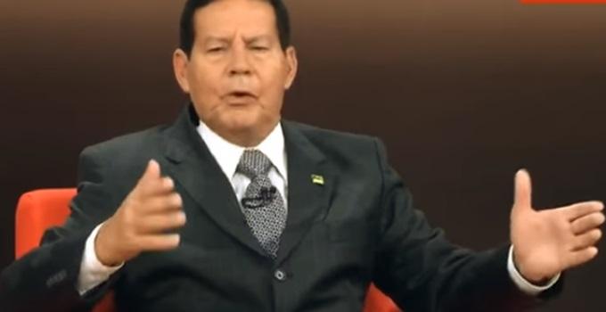 declaração perigosa do General Mourão bolsonaro eleição