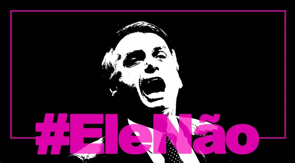 Resultado de imagem para #elenao