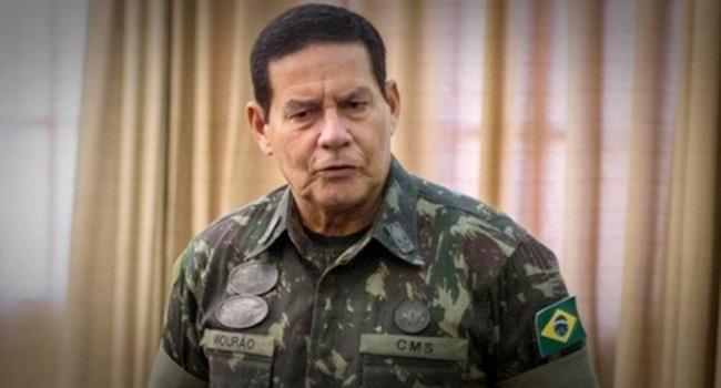 General Mourão calar capitão Bolsonaro