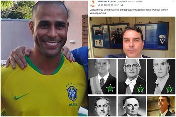 Gláuber Poubel bolsonaro agiota