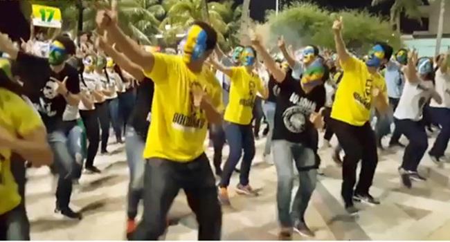 Dancinha do Impeachment fortaleza patriotas bolsonaro eleições 2018