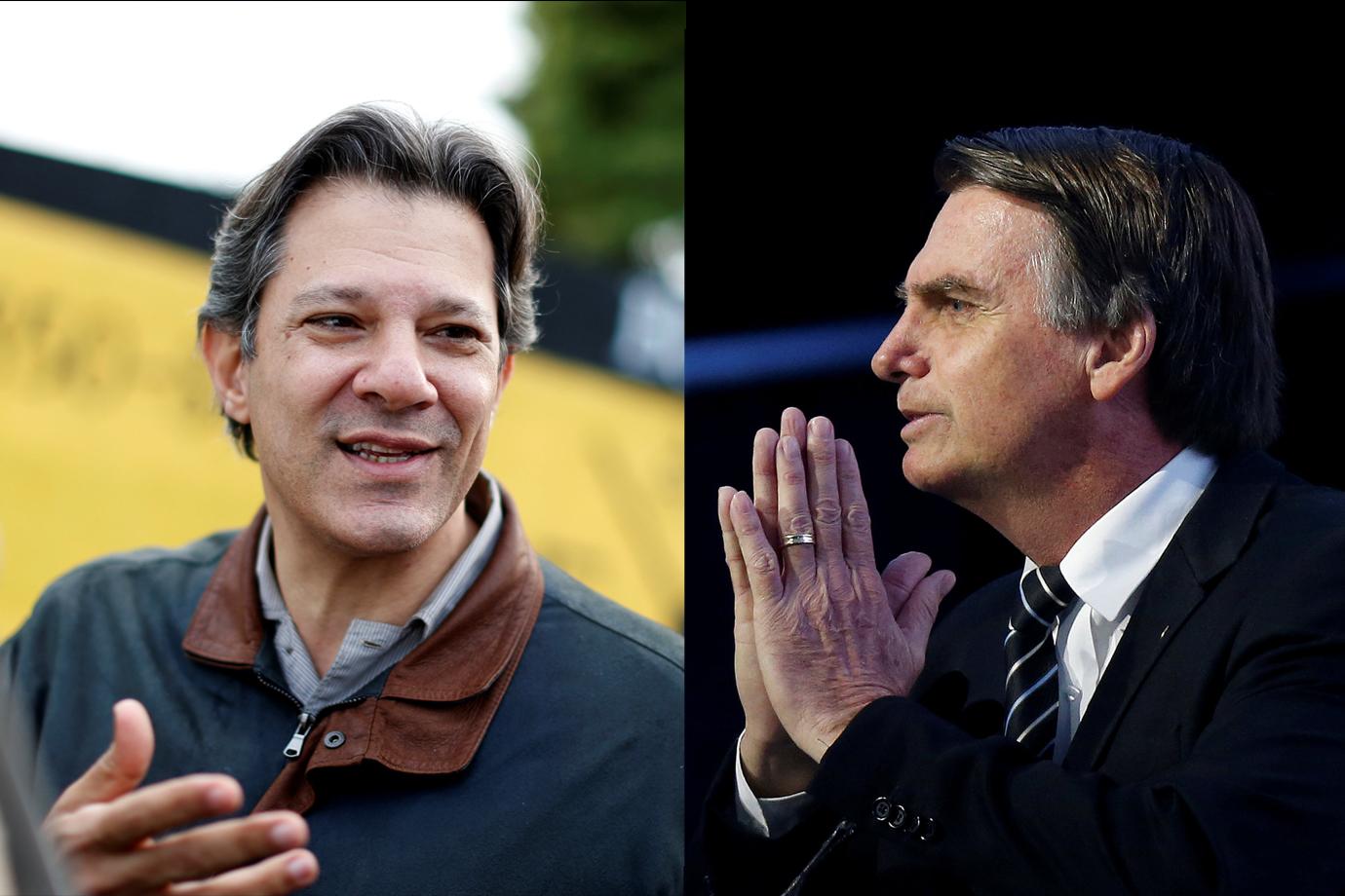 Haddad Bolsonaro pesquisa Ibope