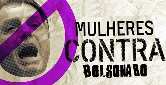 horários manifestações de mulheres contra Bolsonaro brasil eleições