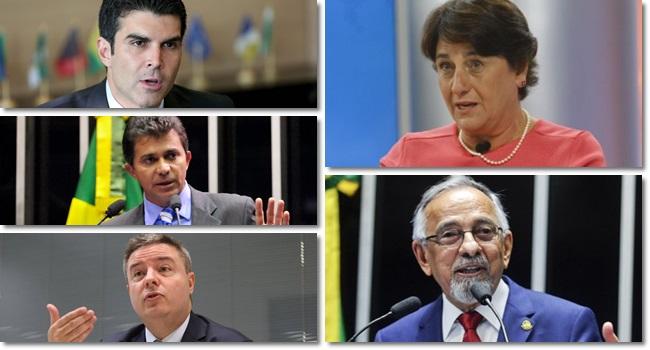 ibope governos minas gerais pará amapá Rondônia DF Brasília eleições