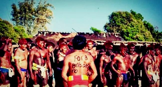 indígenas contra o fascismo eleição bolsonaro