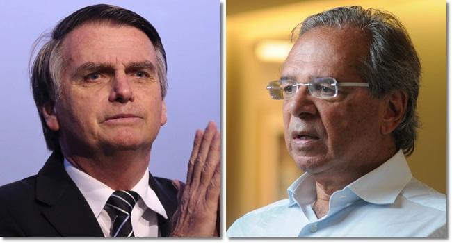 Jair Bolsonaro colisão Paulo Guedes economia eleições psl