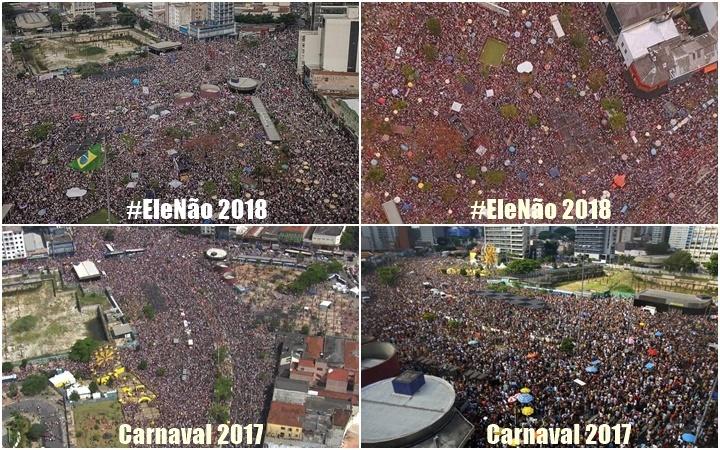 largo da batata #elenão carnaval 2017