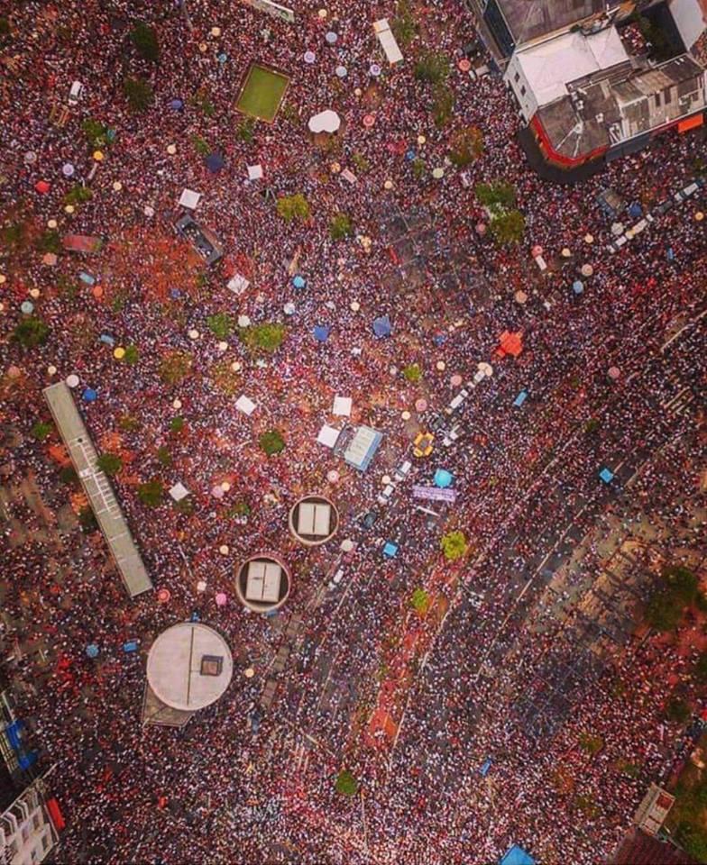 protesto contra Bolsonaro #elenão